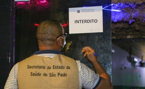 [Polícia interrompe festa clandestina na Zona Sul de SP]