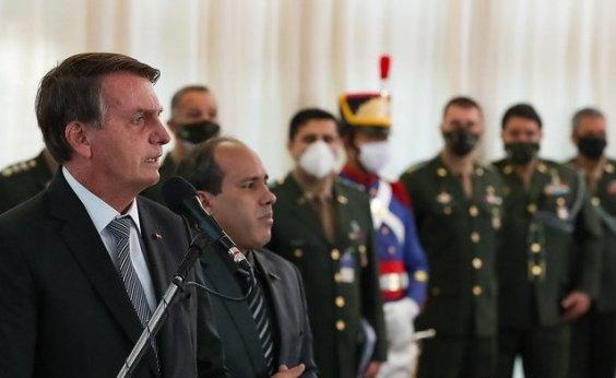 [Após trocas nas Forças Armadas, Bolsonaro volta a falar em 'meu Exército' durante cerimônia]