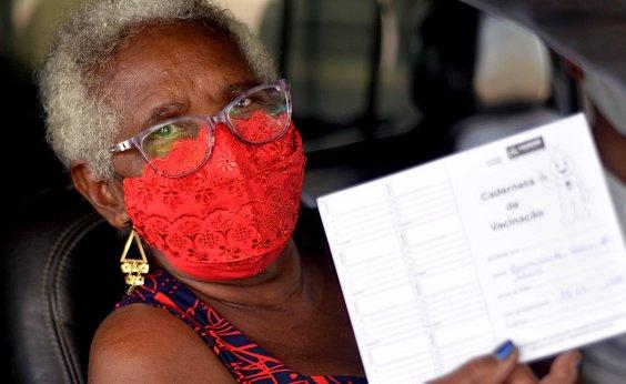 [Bahia vacinou 12,5% da população contra Covid-19, diz consórcio de imprensa]