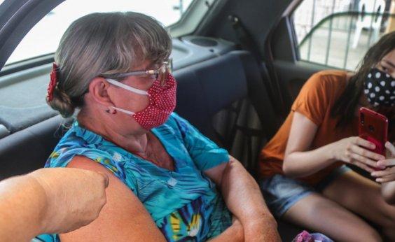 [Salvador tem mais de 100 mil vacinados com as duas doses contra a Covid ]