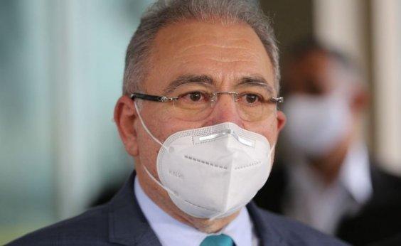 ['Ministério não tem vara de condão para resolver todos os problemas', diz Queiroga sobre falta de vacina contra covid ]