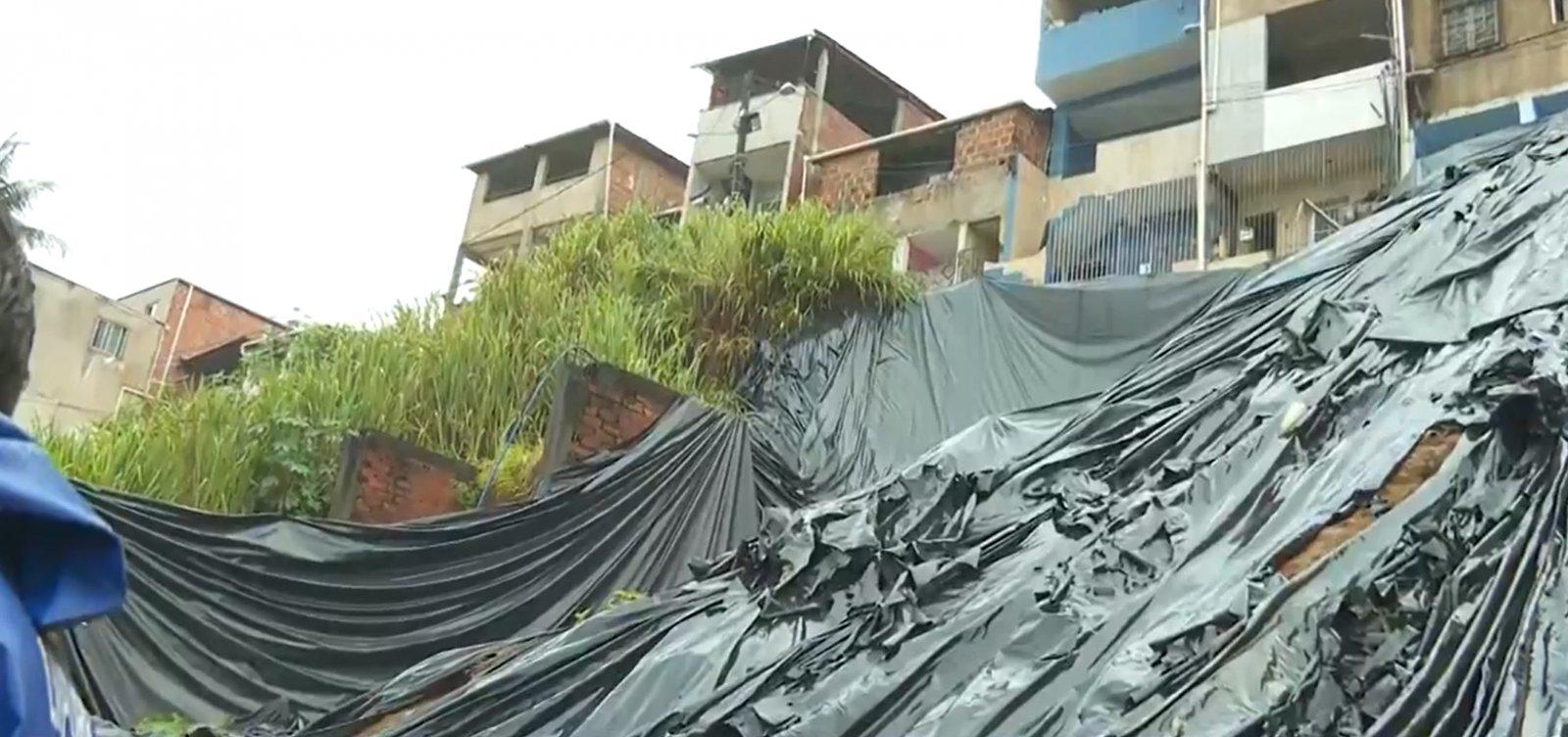 [Chuva em Salvador: mais três sirenes de alerta para riscos de deslizamentos são acionadas]