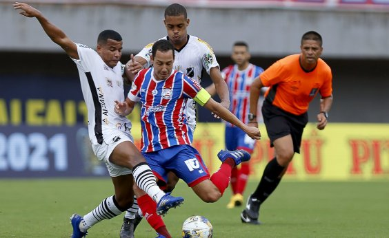 [De virada, Bahia vence ABC por 2 a 1 e se classifica na Copa do Nordeste]