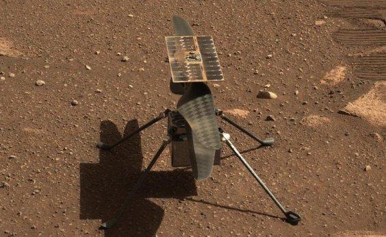 [Primeiro voo de helicóptero em Marte pode acontecer nesta quarta ]