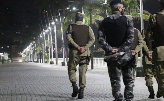 [Governo prorroga toque de recolher em toda a Bahia por mais uma semana ]
