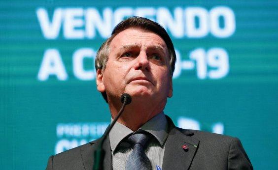 [Bolsonaro pressiona senador a pedir abertura de impeachment de ministros do STF]