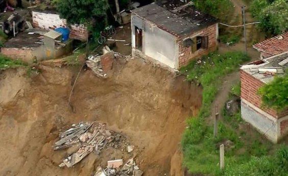 [Codesal alerta para risco de deslizamento de terra, mesmo sem chuvas nos próximos dias em Salvador]