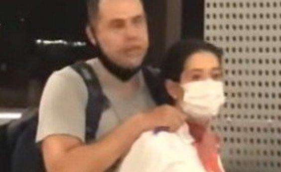 [Homem faz comissária refém em Aeroporto de São Paulo]