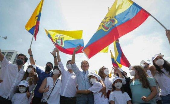 [Conservador Guillermo Lasso é eleito presidente do Equador]