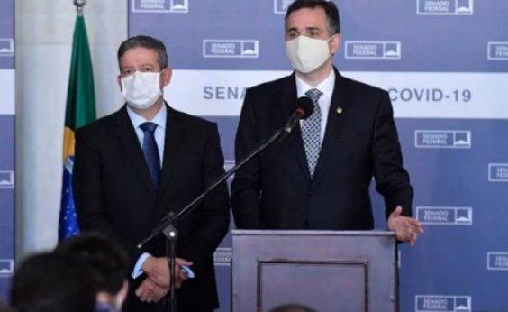 [Pacheco e Lira pedem a secretário-geral da ONU prioridade na entrega de vacinas contra Covid-19 ]