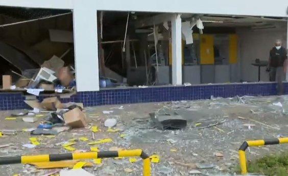 [Explosão destrói agência em Porto Seco Pirajá, em Salvador]