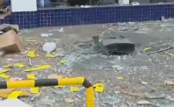 [Com nova explosão, Bahia tem ataque a banco