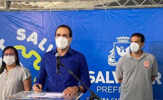 [Salvador deve finalizar vacinação do grupo 1 neste fim de semana, diz prefeito]