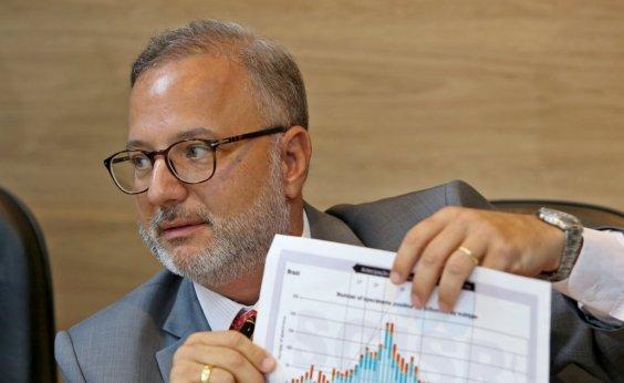 [Dados do Ministério da Saúde são inconsistentes, diz Fábio Vilas-Boas]