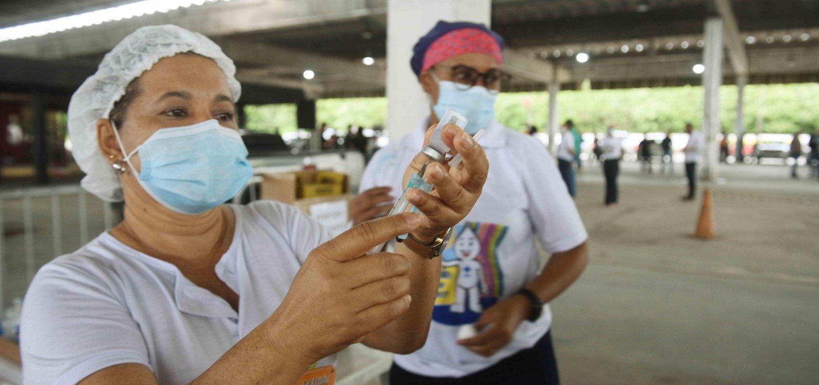[Vacinação contra covid-19 com segunda dose segue nesta quinta em Salvador; confira]