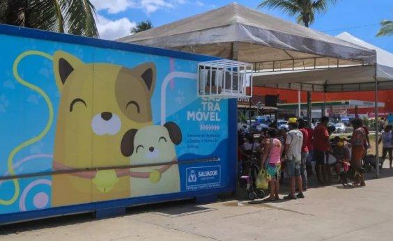 [Castramóvel oferece vacina antirrábica gratuita em Salvador]