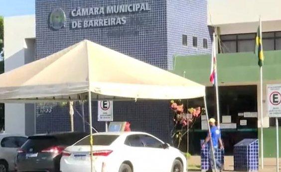 [Câmara de Barreiras suspende sessões presenciais devido a aumento de casos de Covid-19]