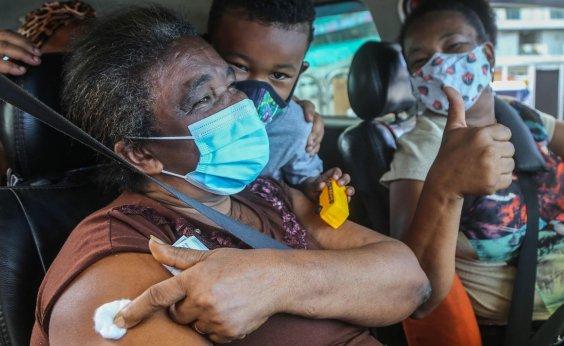 [Bahia ultrapassa 2 milhões de vacinados contra covid, diz consórcio de imprensa]