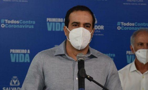 [Novas atividades serão liberadas em Salvador se taxa de ocupação descer para 75%, diz prefeito]
