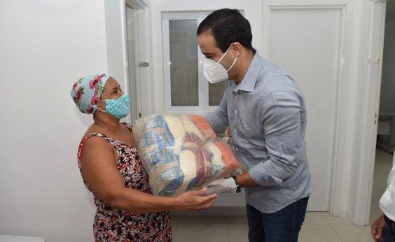 [Prefeitura reforçará entrega de cestas para pessoas em situação de vulnerabilidade]