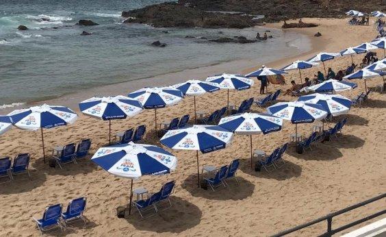 [Barraqueiros reclamam de praias fechadas em Salvador: