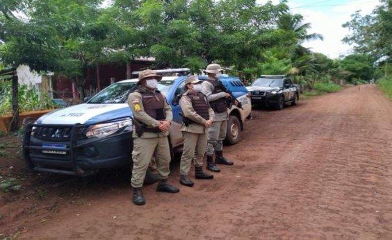 [Polícia encontra acampamento usado como 'refúgio' de traficantes no sul da Bahia  ]