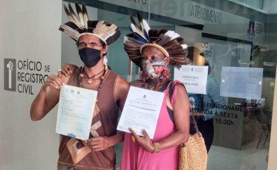 [Ação na Justiça garante troca para nomes indígenas em registro civil]