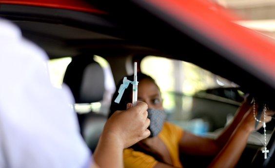 [Bahia vacinou 13,65% da população contra covid-19, diz consórcio de imprensa]