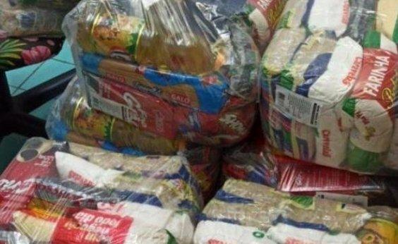 [Prefeitura de Salvador inicia entrega de 20 mil cestas básicas ]