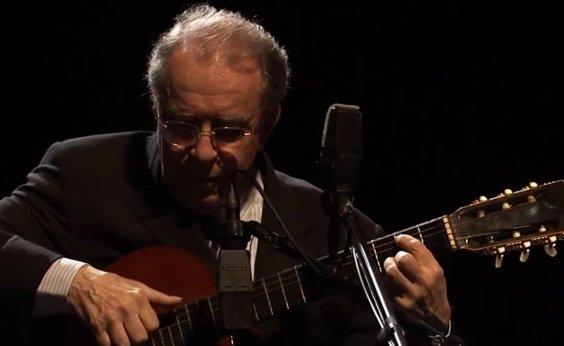 [João Gilberto ganha canal Vevo no YouTube]
