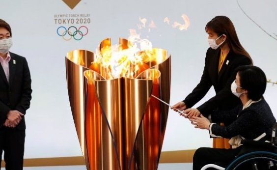 [Organizadores dos Jogos Olímpicos confirmam primeiro caso de Covid-19 no revezamento da tocha]