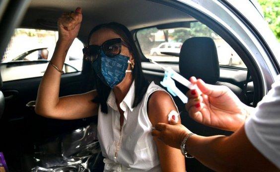[Bahia é o terceiro estado que mais vacina contra Covid-19 no Brasil]