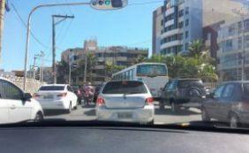 [Segunda-feira é de trânsito complicado em Salvador]