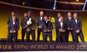 [Brasil tem quatro jogadores na seleção do mundo da temporada 2015]