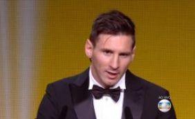 [Lionel Messi é escolhido pela quinta vez melhor jogador do mundo]