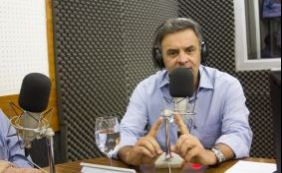 [ Senador Aécio Neves lamenta morte de Afrísio Vieira Lima]