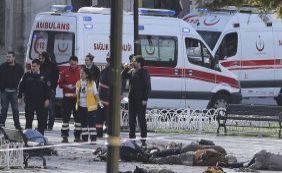 """[""""Atentado realizado por uma pessoa de origem síria"""", diz presidente da Turquia]"""
