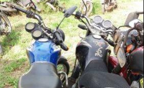 [Polícia recupera três motocicletas roubadas em Alagoinhas]