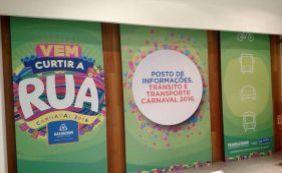 [Postos sobre trânsito e transporte são inaugurados para Carnaval de Salvador]