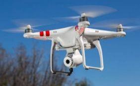 [Drone é usado pela Codesal para ajudar na avaliação das áreas de risco ]