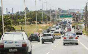 [Trânsito apresenta lentidão em boa parte da cidade; confira ]