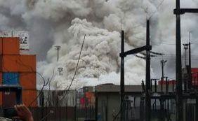 [Após vazamento, nuvem tóxica atinge quatro cidades no litoral de São Paulo]