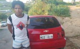 [Jovem é preso em flagrante com veículo roubado em Brotas]