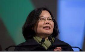 [Oposicionista vence eleições e será primeira mulher a governar Taiwan]