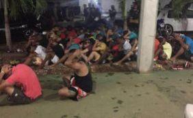 [Cerca de 60 pessoas são detidas durante festa com drogas em Brumado]