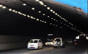[Túnel que liga Cidade Baixa à Cidade Alta recebe novo sistema de iluminação]