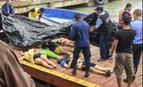 [Lancha naufraga no Mar do Caribe e 13 pessoas morrem; brasileira sobrevive]