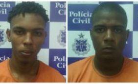 [Polícia prende suspeitos de terem assassinado comerciante em Narandiba]