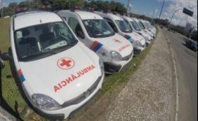 [Sesab entrega 20 novas ambulâncias nesta quarta-feira ]