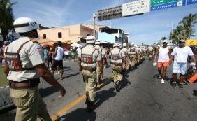 [Segurança: Lavagem de Itapuã contará com quase 500 policiais militares]